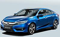 Honda Civic Sedan. Imágenes exteriores.