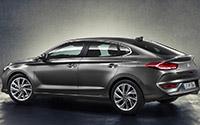 Hyundai i30 Fastback. Imágenes exteriores.