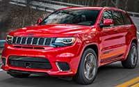 Jeep Grand Cherokee Trackhawk. Imágenes exteriores.