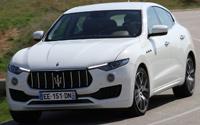 Maserati Levante Diesel. Imágenes exteriores.