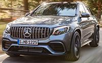 Mercedes-AMG GLC 63 4MATIC+ y GLC 63 S 4MATIC+. Imágenes exteriores.