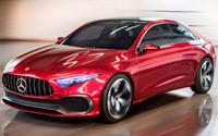 Mercedes-Benz Concept A Sedan. Imágenes exteriores.