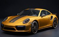 Porsche 911 Turbo S Exclusive Series. Imágenes exteriores.