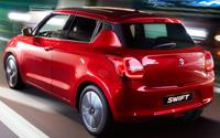 Suzuki Swift. Imágenes exteriores.