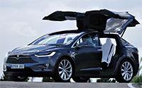 Tesla Model X. Imágenes exteriores.
