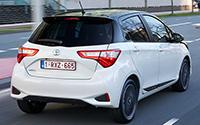 Toyota Yaris. Imágenes exteriores.