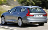 Volvo V90. Imágenes exteriores.