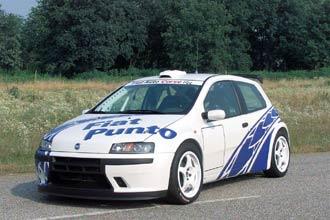 Foto de - fiat punto-rally-prototipo