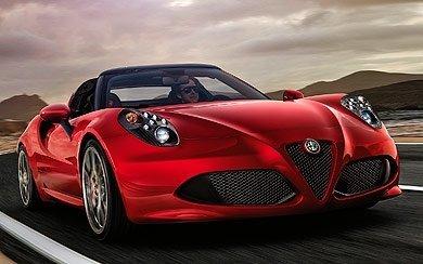 Ver mas info sobre el modelo Alfa Romeo 4C