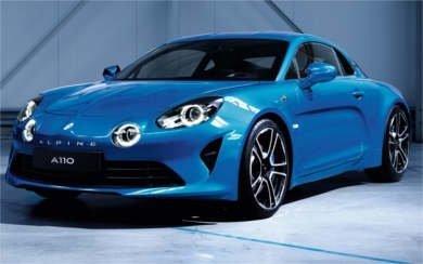 Ver mas info sobre el modelo Alpine A110