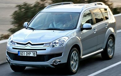 Ver mas info sobre el modelo Citroën C-Crosser