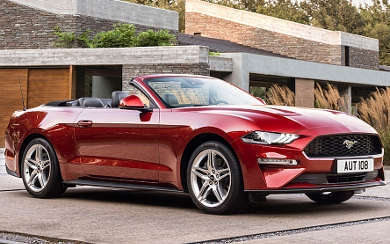 Foto Ford Mustang Convertible GT 5.0 Ti-VCT V8 331 kW (450 CV) Aut. (2018)