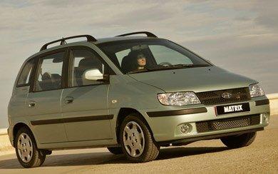 Ver mas info sobre el modelo Hyundai Matrix