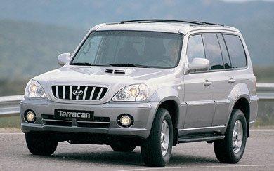 Ver mas info sobre el modelo Hyundai Terracan