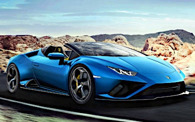 Foto Lamborghini Huracán EVO Spyder RWD (2020)