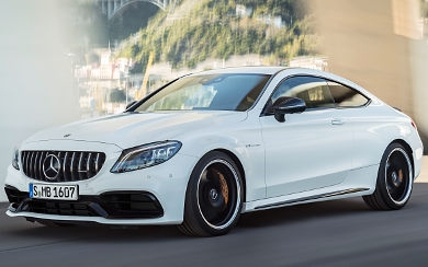 Mercedes benz c63 coupe