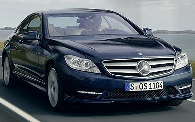 Foto Mercedes-Benz CL 500 BlueEFFICIENCY (2010-2012)