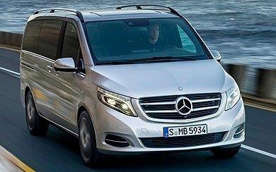 Ver mas info sobre el modelo Mercedes-Benz Clase V