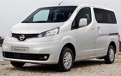 Ver mas info sobre el modelo Nissan Evalia