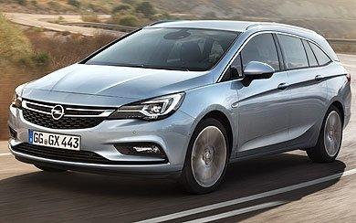 Foto Opel Astra Sports Tourer Expression 1.0 Turbo 77 kW (105 CV) Start/Stop (2016-2018)