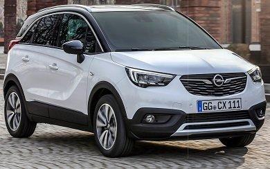 Ver mas info sobre el modelo Opel Crossland X