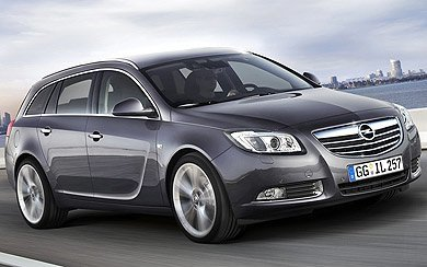 Foto Opel Insignia Sports Tourer Sport 2.0 Turbo 4x4 220 CV (2009-2010)