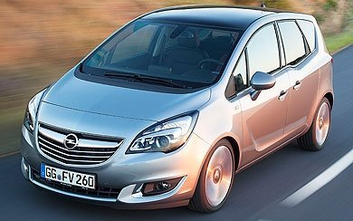 Ver mas info sobre el modelo Opel Meriva