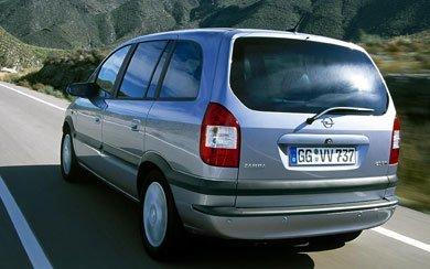 Opel Zafira Sport 2 2 16v 2000 2003 Precio Y Ficha Tecnica