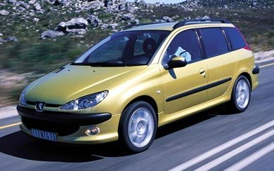 Ver mas info sobre el modelo Peugeot 206