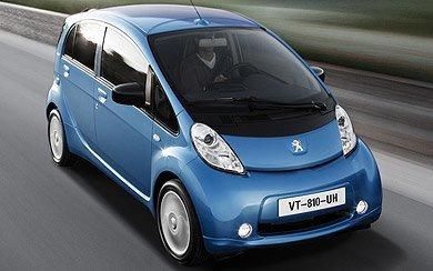 Ver mas info sobre el modelo Peugeot iOn