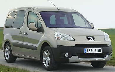 Peugeot partner tepee 2015 informaci n general - Coches con puertas correderas ...