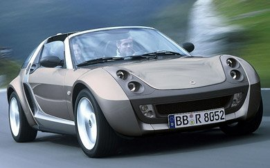 Ver mas info sobre el modelo smart roadster