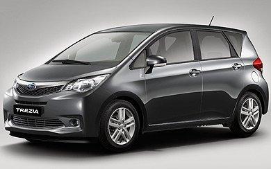 Ver mas info sobre el modelo Subaru Trezia