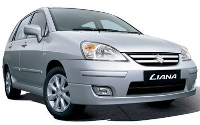 Ver mas info sobre el modelo Suzuki Liana