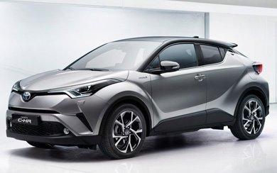 Ver mas info sobre el modelo Toyota C-HR