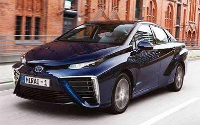 Ver mas info sobre el modelo Toyota Mirai