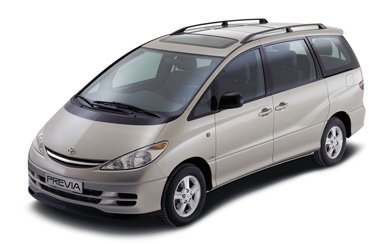 Ver mas info sobre el modelo Toyota Previa