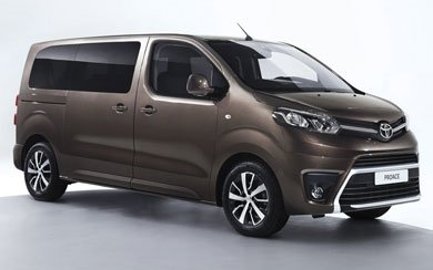 Ver mas info sobre el modelo Toyota Proace