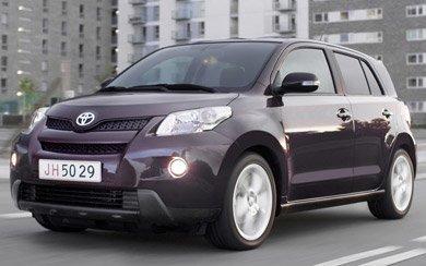 Ver mas info sobre el modelo Toyota Urban Cruiser