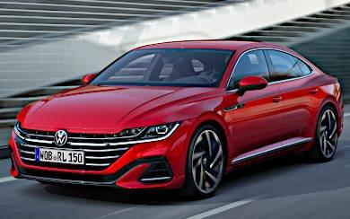 Foto Volkswagen Arteon Elegance 2.0 TSI 140 kW (190 CV) DSG 7 vel. (2020)