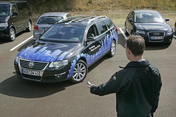 Volkswagen. aparcamiento auttomático.