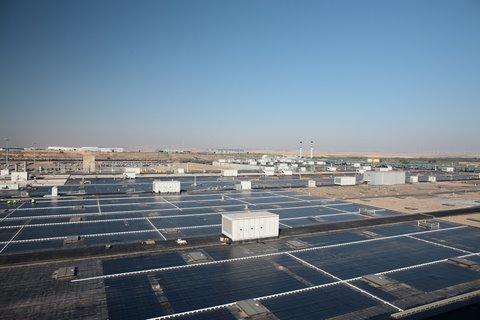 Tejado solar para los coches
