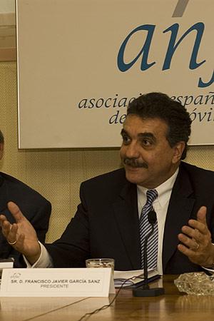 Francisco Javier García Sanz. Presidente de ANFAC.