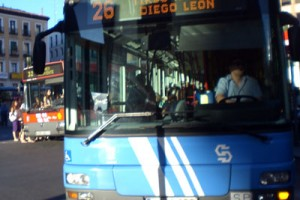 Autobuses de la EMT. Madrid.