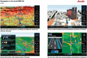 Nueva generación del MMI de Audi: más funciones y más facilidad de uso.