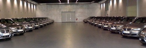 BMW Serie 3, Porsche Carrera GT y 260 km/h