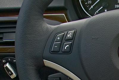 Botón de voz. BMW Serie 3