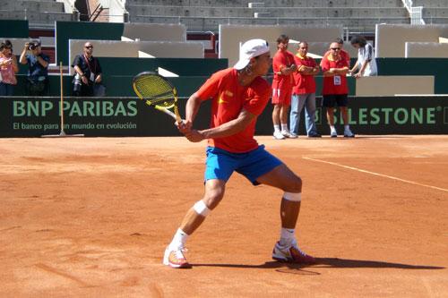 Rafael Nadal. Golpe de Revés.