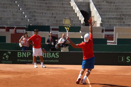 Rafael Nadal y Toni Nadal