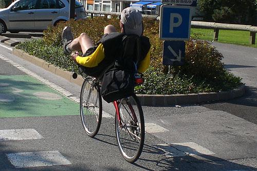 La siesta de la bicicleta
